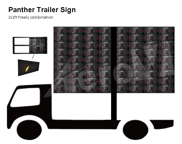 Mobile-trailer-outdoor-led-screen-Panther-2x1ft